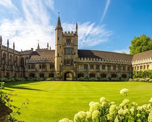 牛津大学录取!